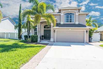 Jupiter Single Family Home Contingent: 6406 Revelle Circle S