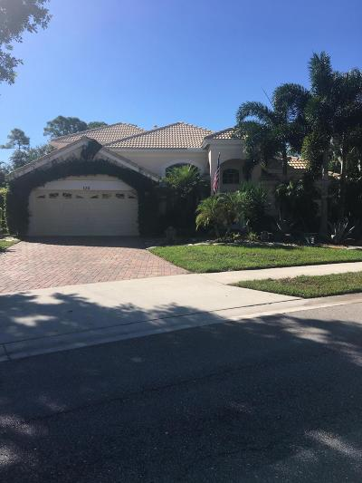Palm Beach Gardens Single Family Home Contingent: 120 Bent Tree Drive