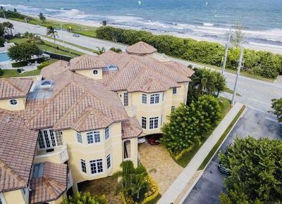 Boca Raton Townhouse For Sale: 2601 Ocean Boulevard #A