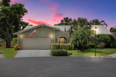 Boca Raton Single Family Home For Sale: 22339 Greentree Circle