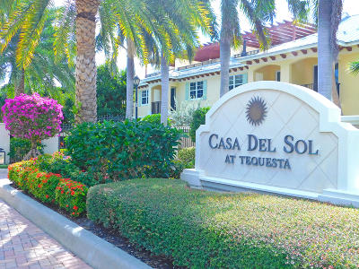 Tequesta Townhouse Contingent: 305 Del Sol Circle