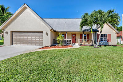 Lake Worth Single Family Home For Sale: 4289 Coconut Road