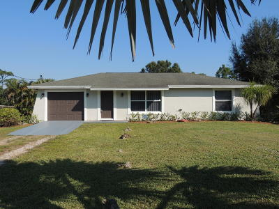 Loxahatchee Groves, Loxahatchee Groves I, Loxahatchee Grvs, Loxahatchee, Florida 33470- 3109 Single Family Home Contingent: 15465 San Diego Drive