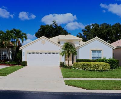 Delray Beach Single Family Home For Sale: 7737 Doubleton Drive