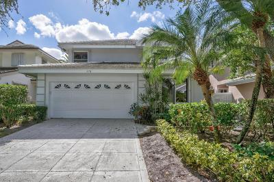 Palm Beach Single Family Home For Sale: 276 W Canterbury Drive W