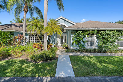 Palm Beach Gardens Single Family Home Contingent: 15094 72nd Drive