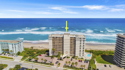 Juno Beach Condo For Sale: 840 Ocean Drive #601