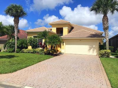 Port Saint Lucie Single Family Home For Sale: 349 NW Stratford Lane