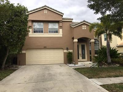 Royal Palm Beach Single Family Home For Sale: 2031 Reston Circle
