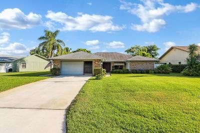 Hobe Sound Single Family Home For Sale: 7853 SE Lexington Avenue