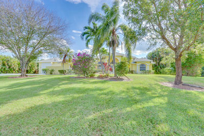 Palm Beach Gardens Single Family Home For Sale: 7752 163rd Court