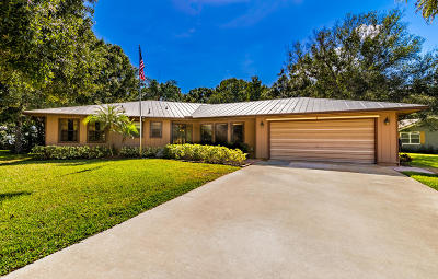 Vero Beach Single Family Home For Sale: 2945 7th Place
