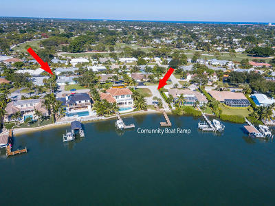 Tequesta Country Club Single Family Home For Sale: 100 River Drive