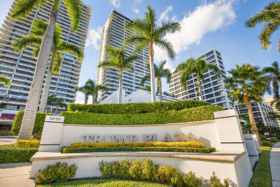 West Palm Beach Condo For Sale: 525 S Flagler Drive #29 A&b