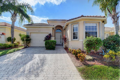 Delray Beach Single Family Home Contingent: 7062 Del Corso Lane