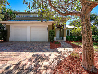 Palm City Single Family Home Contingent: 3122 SW Lake Terrace