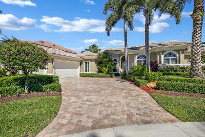 West Palm Beach Single Family Home For Sale: 10856 Egret Pointe Lane
