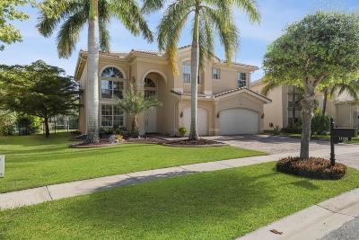 Boynton Beach Single Family Home Contingent: 11105 Sunset Ridge Circle