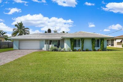 Boynton Beach Single Family Home For Sale: 3213 Canal Drive
