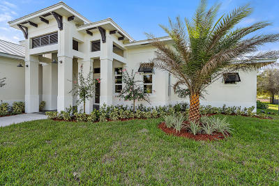 Palm Beach Gardens FL Single Family Home For Sale: $1,150,000