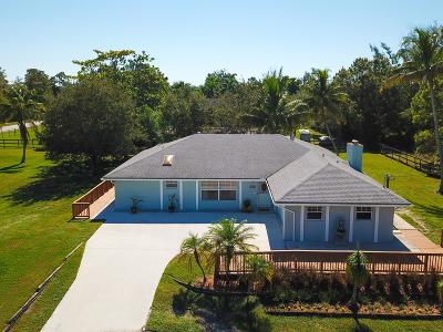Loxahatchee Single Family Home For Sale: 16032 E Aintree Drive