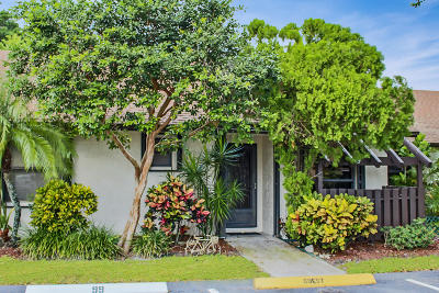 boynton beach Single Family Home For Sale: 99 Via De Casas Norte
