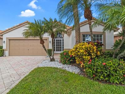 Boynton Beach Single Family Home Contingent: 6545 Kings Creek Terrace