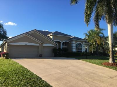 Lake Worth Single Family Home For Sale: 9724 Eagle Point Lane