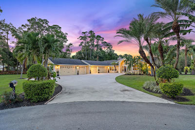 Jupiter Single Family Home Contingent: 10010 Trailwood Place