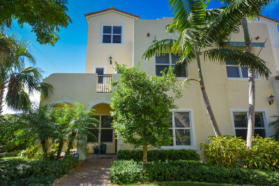West Palm Beach Townhouse For Sale: 3678 Vintage Way