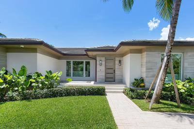 Palm Beach Single Family Home For Sale: 234 Ocean Terrace