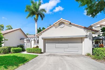 Boca Raton Single Family Home Contingent: 5541 Ilford Court
