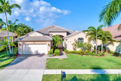 West Palm Beach Single Family Home For Sale: 9542 Lantern Bay Circle