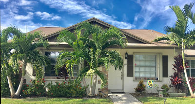 Jupiter Single Family Home Contingent: 137 Doe Trail