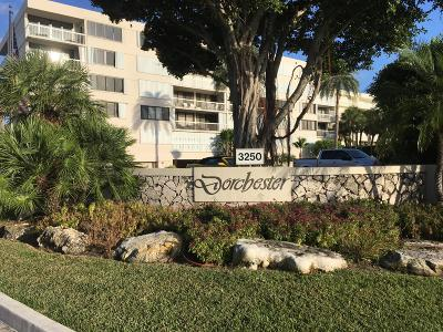 Palm Beach Condo For Sale: 3250 S Ocean Boulevard #106s