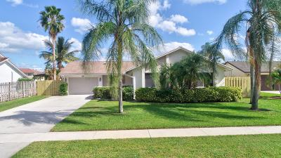 Boynton Beach Single Family Home Contingent: 49 Vista Del Rio