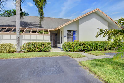 Boca Raton Single Family Home For Sale: 11001 Hidden Lake Place