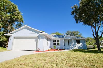 Vero Beach Single Family Home For Sale: 8576 101st Avenue