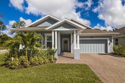 Vero Beach Single Family Home For Sale: 3584 Diamond Leaf Drive