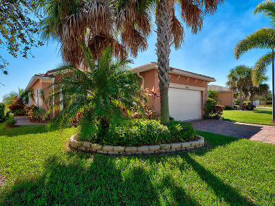 Port Saint Lucie Single Family Home For Sale: 9765 SW Eastbrook Circle