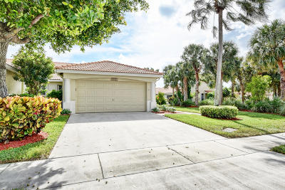 Delray Beach Single Family Home For Sale: 6212 Floral Lakes Drive