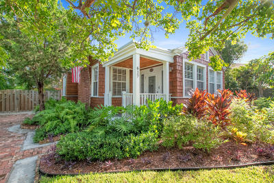 West Palm Beach Single Family Home For Sale: 617 P Street