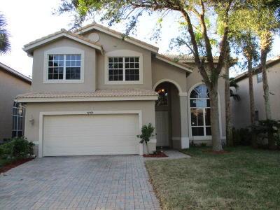 Boynton Beach Single Family Home For Sale: 12101 Colony Preserve Drive