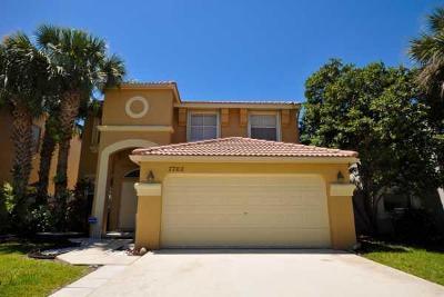 Lake Worth, Lakeworth Single Family Home For Sale: 7702 Oak Grove Circle