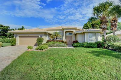 Boynton Beach Single Family Home For Sale: 7110 E Falls Road E