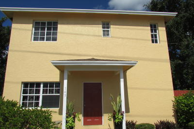 Lake Worth Single Family Home For Sale: 1430 S M Street
