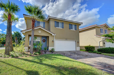 Greenacres Single Family Home For Sale: 4701 Foxtail Palm Court