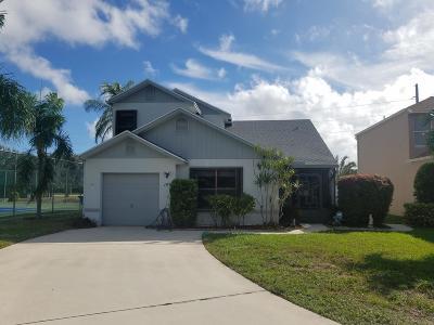 Boynton Beach Single Family Home For Sale: 143 Tara Lakes Drive W