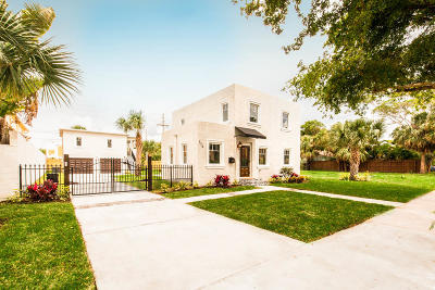 West Palm Beach Single Family Home For Sale: 354 Marlborough Place