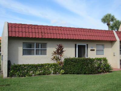 West Palm Beach Single Family Home For Sale: 193 Lake Evelyn Drive